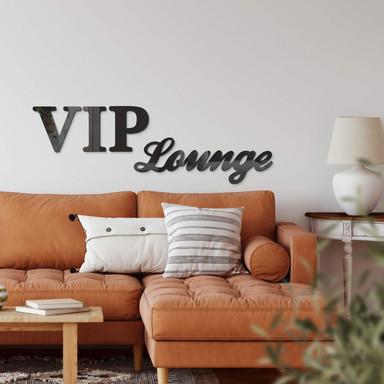 Acrylbuchstaben VIP-Lounge