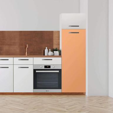 Klebefolie - Hochschrank (60x160cm) - Orange Light- Bild 1