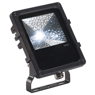 LED Outdoor Strahler Disos, 4000 K, schwarz, 12 W