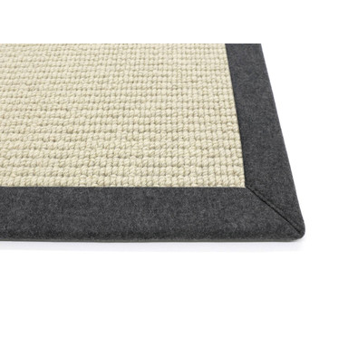 Livingstone Wollweb 6cm Bordürenteppich