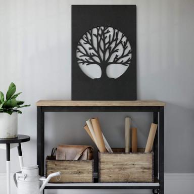 MDF - Holzdeko Baum des Lebens - Klassisch