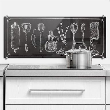 Spritzschutz Rustic Kitchen - Panorama