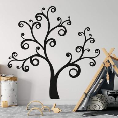 Wandtattoo XXL Geschwungener Baum