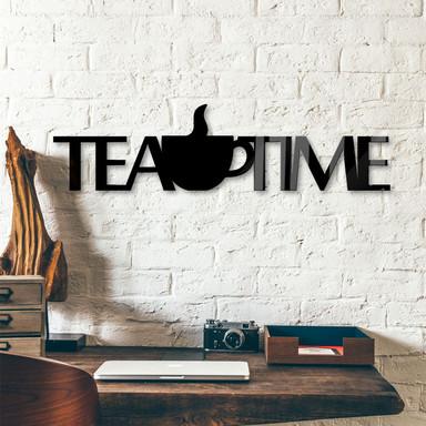 Acrylbuchstaben Tea Time + 8 Klebepads