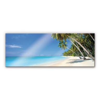 Acrylglasbild Paradise - Panorama