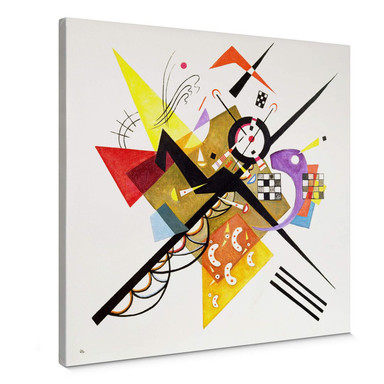 Leinwand Kandinsky - Auf Weiss II