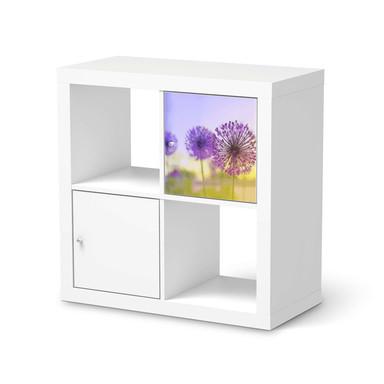 Möbelfolie IKEA Kallax Regal 1 Türe - Spring Flower