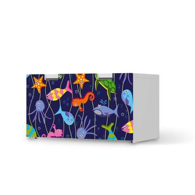 Möbelfolie IKEA Stuva / Malad Banktruhe - Underwater Life