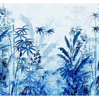 Fototapete Blue Jungle