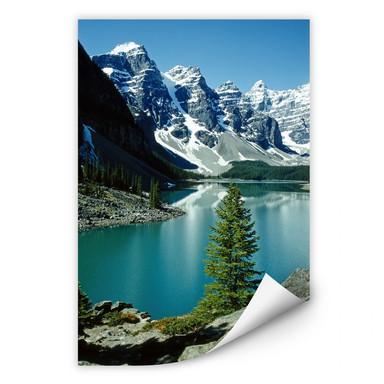 Wallprint Bergsee Idylle