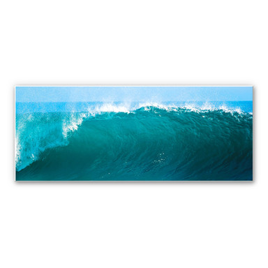 Wandbild Perfect Wave - Panorama