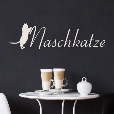 Wandtattoo Naschkatze