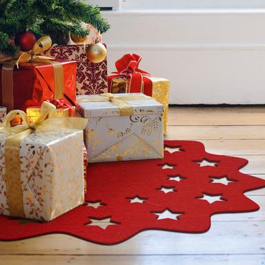 Weihnachtsbaumdecke - Sternenvielfalt