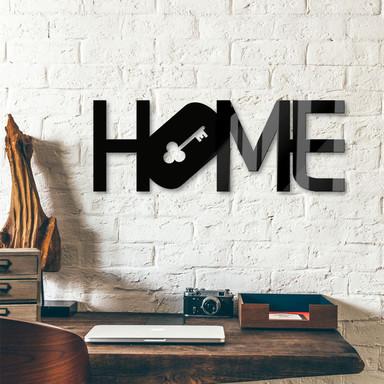 Acrylbuchstaben Home - Key & 8 Klebepads