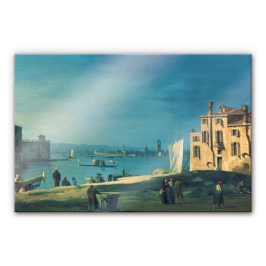 Acrylglasbild Canaletto - Die Insel Murano