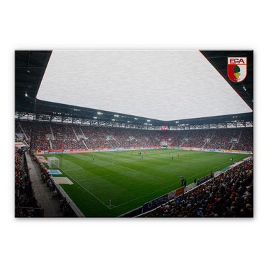 Alu-Dibond Bild FC Augsburg Stadion Innenansicht