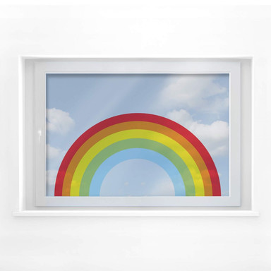 Fensterbild Regenbogen