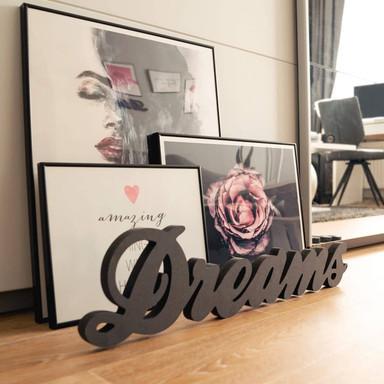 MDF-Holzbuchstaben Dreams 2