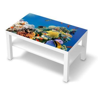 Möbelfolie IKEA Lack Tisch 90x55cm - Coral Reef
