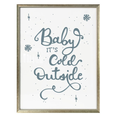 Poster Baby it's cold outside
