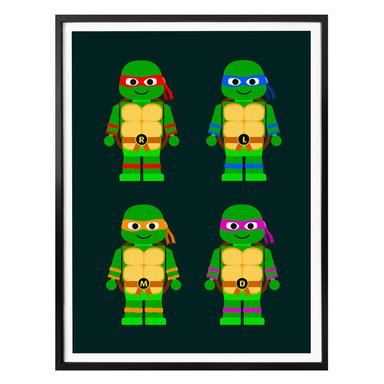 Poster Gomes - Teenage Mutant Ninja Turtles Spielzeug