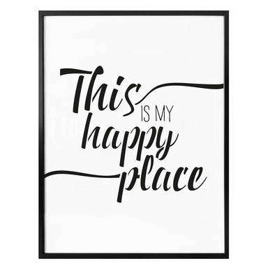 Poster - This is my happy place