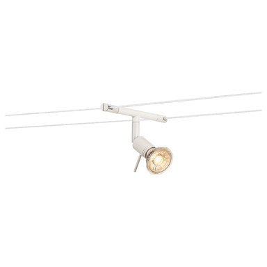 Tenseo Seilsystem, Seilleuchte Syros, QR-C51. weiss