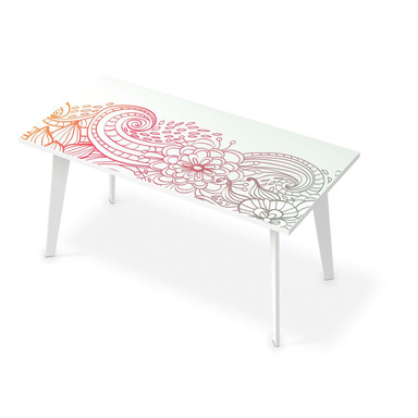 Tischfolie - Floral Doodle