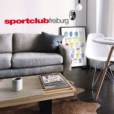 Wandsticker SC Freiburg Sportclub