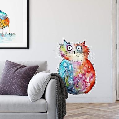 Wandtattoo Hagenmeyer - Happy Cat