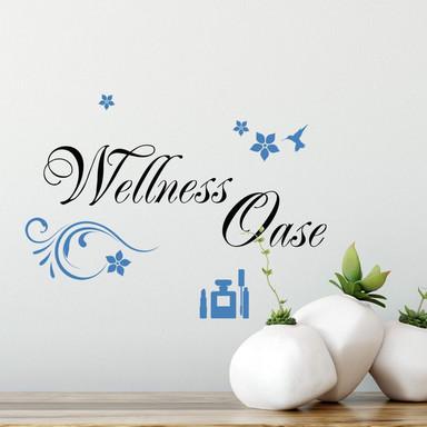 Wandtattoo Wellness Oase 2 (2-farbig)