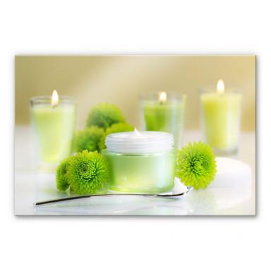 Acrylglasbild Candle Lemon