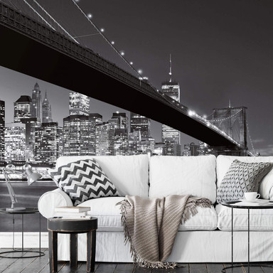 Fototapete Papiertapete Brooklyn Bridge NY - 366x254cm