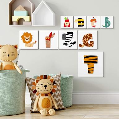HDF-Buchstaben Kinderbuchstaben