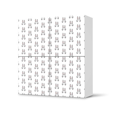 Klebefolie IKEA Besta Schrank 4 Türen - Hoppel- Bild 1