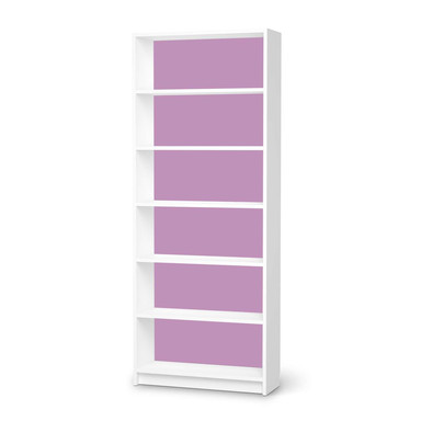 Klebefolie IKEA Billy Regal 6 Fächer - Flieder Light- Bild 1
