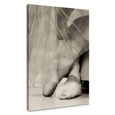 Leinwandbild Ballerina