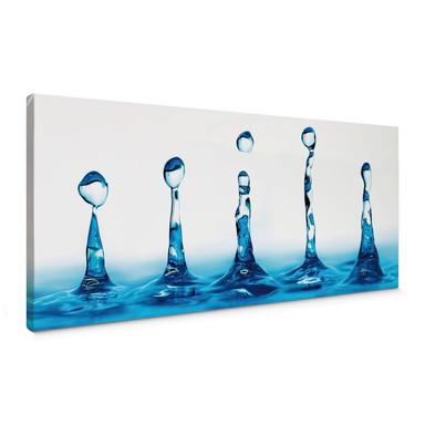 Leinwandbild H2O