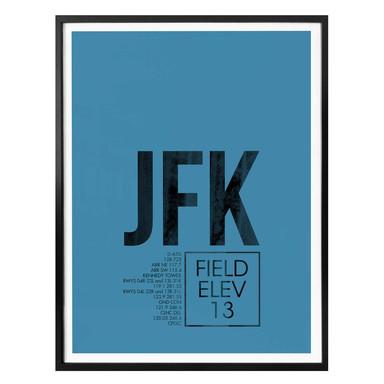 Poster 08Left - JFK Flughafen New York