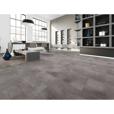 Vinyl-Designboden JOKA 633 | Faced Concrete Dark 266