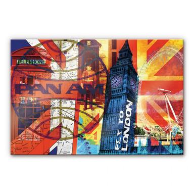 Acrylglasbild PAN AM - London