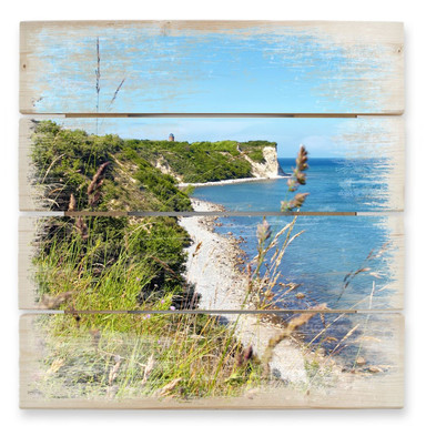 Holzbild Kap Arkona