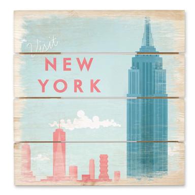 Holzbild Rivers - New York