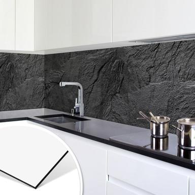 Küchenrückwand - Alu-Dibond - Schiefer Design 01
