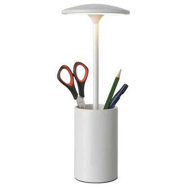 LED Tischleuchte Pott in Weiss 7W 455lm
