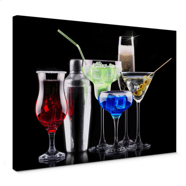 Leinwandbild Girly Cocktails