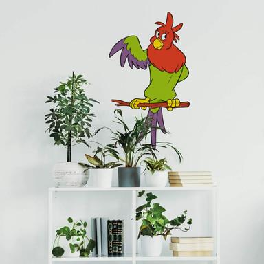 Wandsticker Benjamin Blümchen Papagei Paola