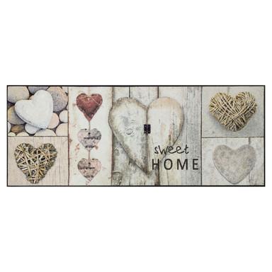 Wash&Dry Fussmatte Vintage Hearts 75x190cm