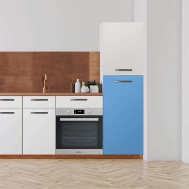 Klebefolie - Hochschrank (60x120cm) - Blau Light- Bild 1