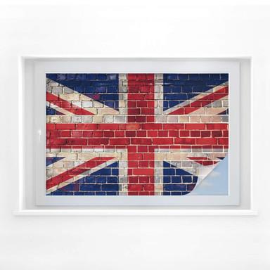 Sichtschutzfolie Union Jack Mauer